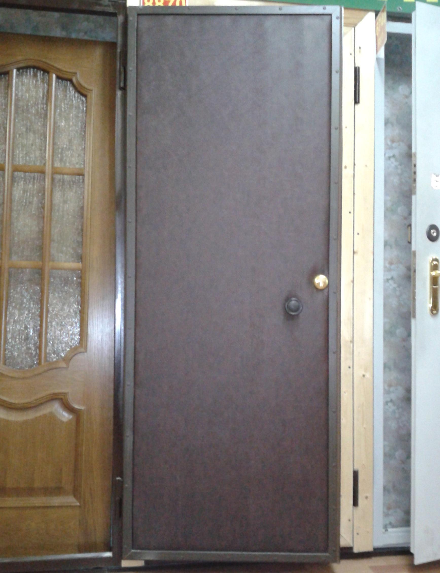 заказать металлическую дверь с хорошей шумоизоляцией